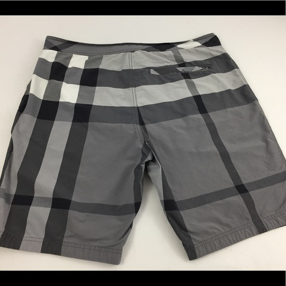 07568565b5 Burberry Other - Burberry Brit Plaid Checkered Swim Trunks Men's XL